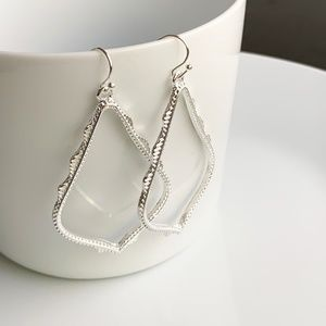 Jewelry - NEW Large Frame Earrings (silver)
